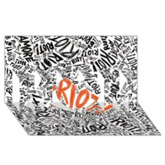 Paramore Is An American Rock Band Mom 3d Greeting Card (8x4) by Onesevenart