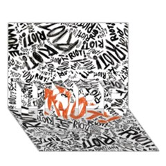 Paramore Is An American Rock Band Hope 3d Greeting Card (7x5) by Onesevenart