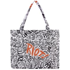 Paramore Is An American Rock Band Mini Tote Bag by Onesevenart