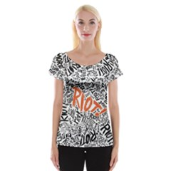 Paramore Is An American Rock Band Women s Cap Sleeve Top by Onesevenart