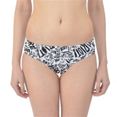 Paramore Is An American Rock Band Hipster Bikini Bottoms by Onesevenart