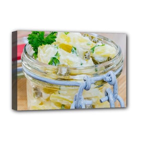 1 Kartoffelsalat Einmachglas 2 Deluxe Canvas 18  X 12