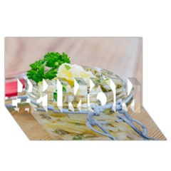 1 Kartoffelsalat Einmachglas 2 #1 Mom 3d Greeting Cards (8x4)
