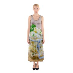 1 Kartoffelsalat Einmachglas 2 Sleeveless Maxi Dress