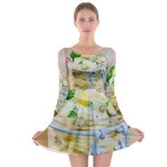1 Kartoffelsalat Einmachglas 2 Long Sleeve Skater Dress