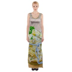 1 Kartoffelsalat Einmachglas 2 Maxi Thigh Split Dress