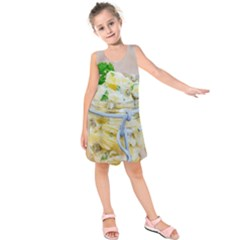 1 Kartoffelsalat Einmachglas 2 Kids  Sleeveless Dress