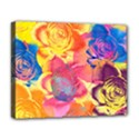 Pop Art Roses Deluxe Canvas 20  x 16   View1