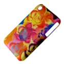 Pop Art Roses Apple iPhone 3G/3GS Hardshell Case (PC+Silicone) View4