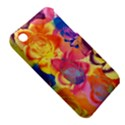 Pop Art Roses Apple iPhone 3G/3GS Hardshell Case (PC+Silicone) View5