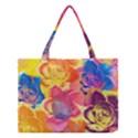 Pop Art Roses Medium Tote Bag View1