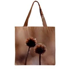 2  Verwelkte Kugeldistel Grocery Tote Bag