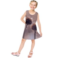 2  Verwelkte Kugeldistel Kids  Tunic Dress