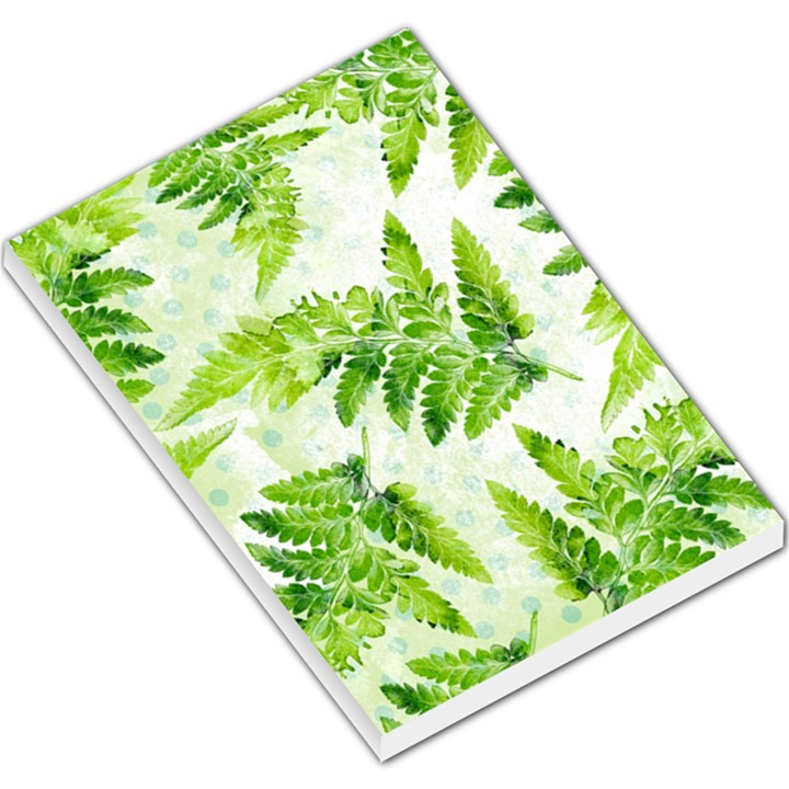 Fern Leaves Large Memo Pads