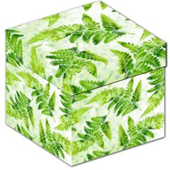 Fern Leaves Storage Stool 12