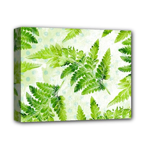 Fern Leaves Deluxe Canvas 14  x 11