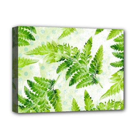 Fern Leaves Deluxe Canvas 16  x 12