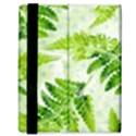 Fern Leaves Samsung Galaxy Tab 8.9  P7300 Flip Case View3
