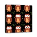 Halloween brown owls  Mini Canvas 6  x 6  View1