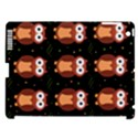 Halloween brown owls  Apple iPad 3/4 Hardshell Case (Compatible with Smart Cover) View1