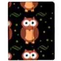 Halloween brown owls  Apple iPad 2 Flip Case View1