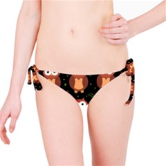 Halloween brown owls  Bikini Bottom