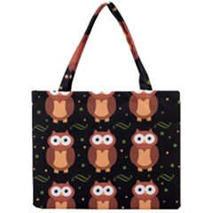 Halloween brown owls  Mini Tote Bag