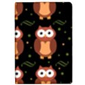 Halloween brown owls  iPad Air 2 Flip View1
