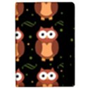 Halloween brown owls  iPad Air 2 Flip View2