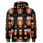 Halloween brown owls  Men s Pullover Hoodie