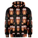 Halloween brown owls  Men s Zipper Hoodie View1