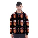 Halloween brown owls  Wind Breaker (Men)
