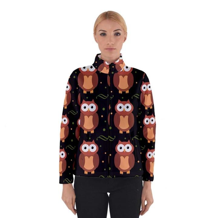 Halloween brown owls  Winterwear
