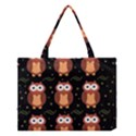 Halloween brown owls  Medium Tote Bag View1