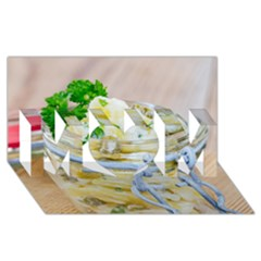 Potato Salad In A Jar On Wooden Mom 3d Greeting Card (8x4)
