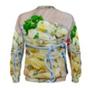 Potato salad in a jar on wooden Men s Sweatshirt View2