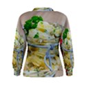 Potato salad in a jar on wooden Women s Sweatshirt View2