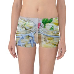 Potato Salad In A Jar On Wooden Boyleg Bikini Bottoms