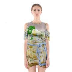 Potato Salad In A Jar On Wooden Cutout Shoulder Dress