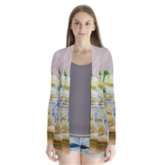 Potato Salad In A Jar On Wooden Drape Collar Cardigan by wsfcow