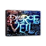 Pierce The Veil Quote Galaxy Nebula Mini Canvas 7  x 5