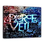 Pierce The Veil Quote Galaxy Nebula Canvas 20  x 16