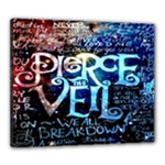 Pierce The Veil Quote Galaxy Nebula Canvas 24  x 20