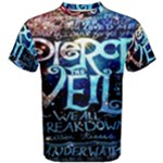 Pierce The Veil Quote Galaxy Nebula Men s Cotton Tee