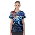 Pierce The Veil Quote Galaxy Nebula Women s Cotton Tee