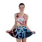 Pierce The Veil Quote Galaxy Nebula Mini Skirt