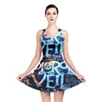 Pierce The Veil Quote Galaxy Nebula Reversible Skater Dress