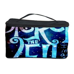 Pierce The Veil Quote Galaxy Nebula Cosmetic Storage Case by Onesevenart