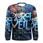 Pierce The Veil Quote Galaxy Nebula Men s Long Sleeve Tee