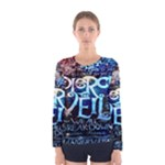 Pierce The Veil Quote Galaxy Nebula Women s Long Sleeve Tee